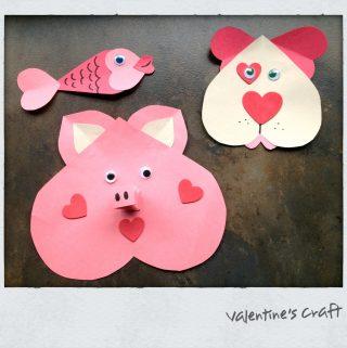 Children: Valentine's Craft for the Classroom