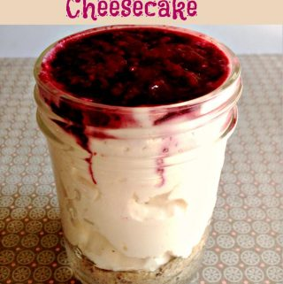 Low Carb No Bake Cheesecake.. It's out of this world.