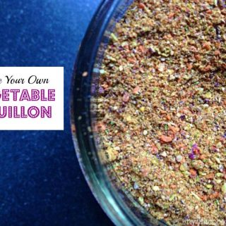 Make Your Own Vegetable Bouillon