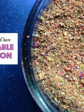 Make Your Own Vegetable Bouillon