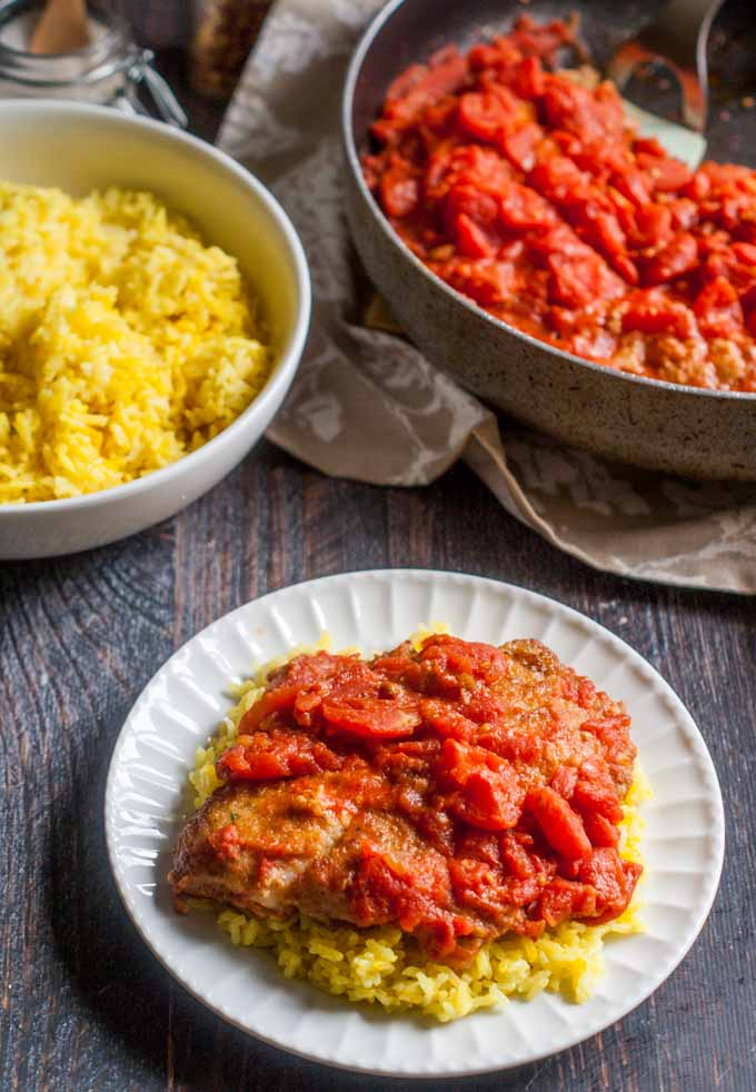 This easy tilapia pomodoro dinner is something that my friend showed me along time ago and one that my family loves. Only a few ingredients for an easy weekday meal