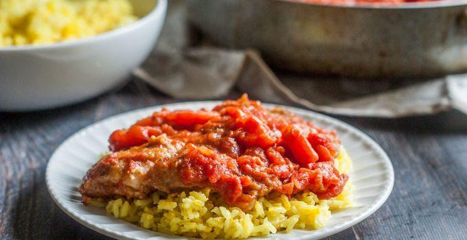 Easy Tilapia Pomodoro Dinner #SundaySupper