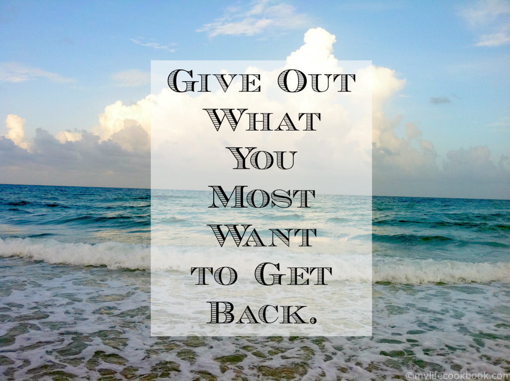 Give Out Quote