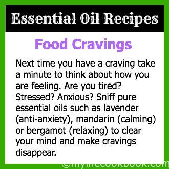 Essential Oils for Food Cravings
