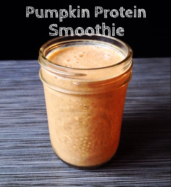Pumpkin Protein Smoothie (Low Carb) - My Life Cookbook