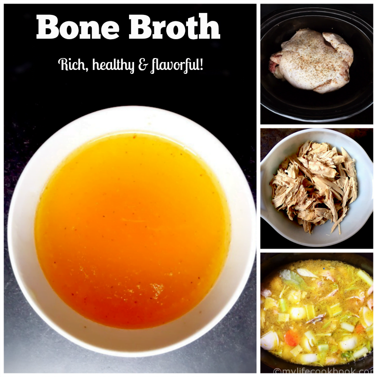 Bone Broth - Rich, healthy & flavorful!