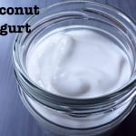 Coconut yogurt