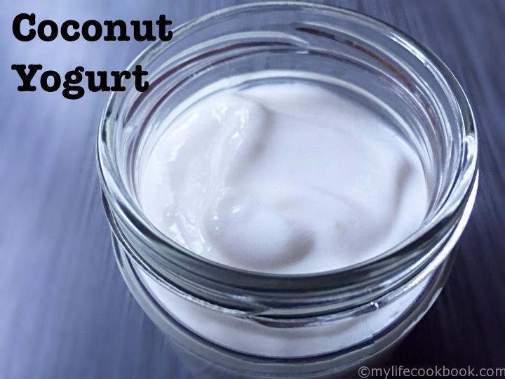 Coconut yogurt