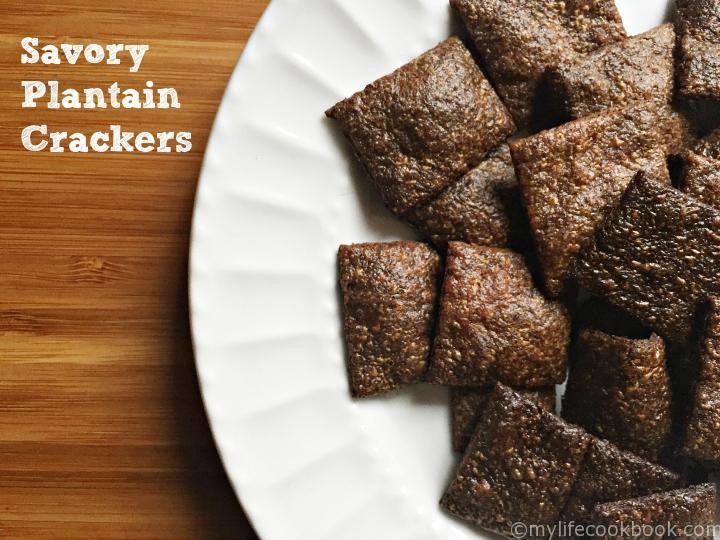 Savory Plantain Cracker
