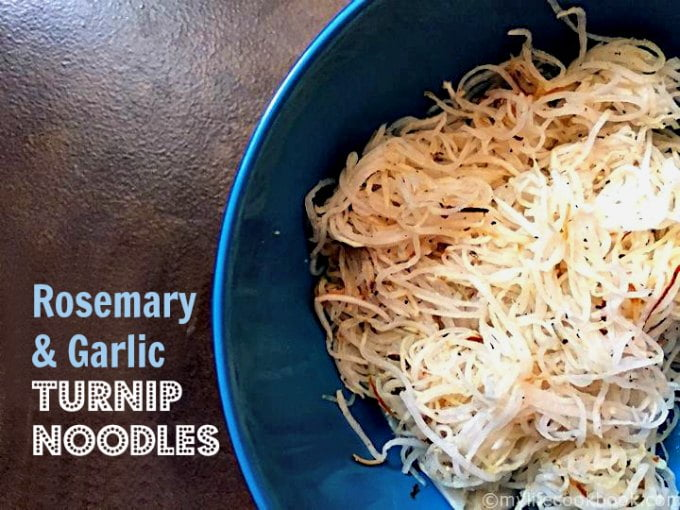 how to make turnip noodles