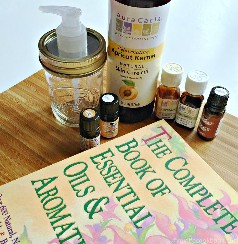 Essential Oils: Bath Oil for Dry Skin (Free Labels)