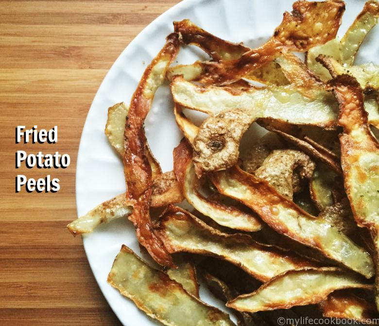 Fried Potato Peels...Yes Peels!