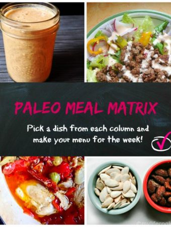 Paleo Meal Matrix