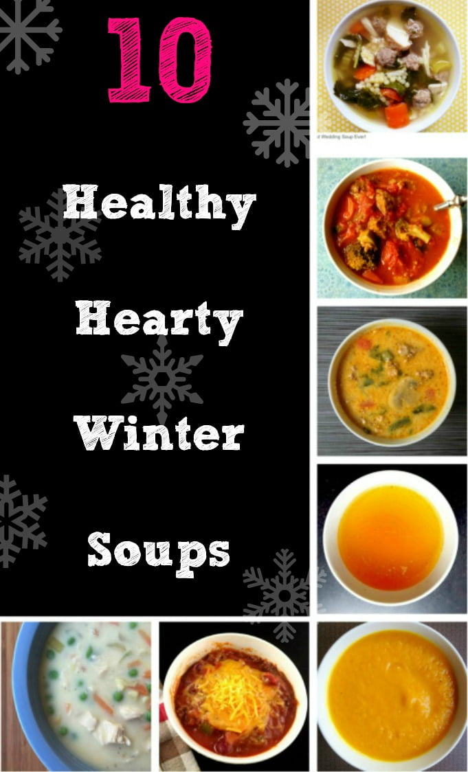 Enjoy these 10 healthy hearty winter soups to keep you warm and nourished!