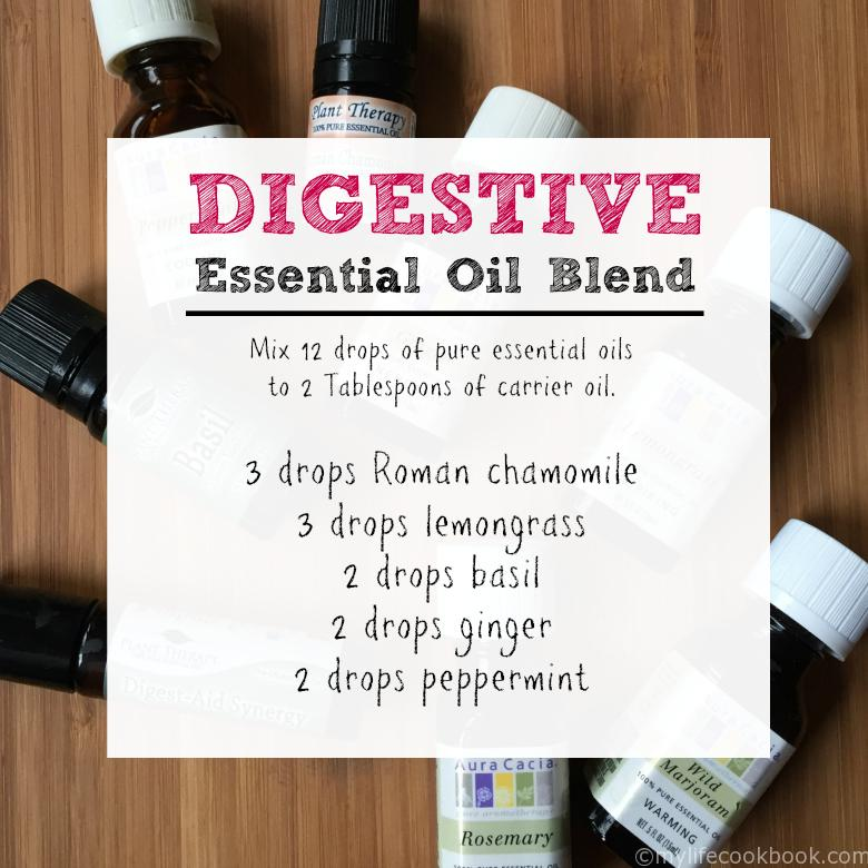 Essential Oils Blend for Digestive Issues