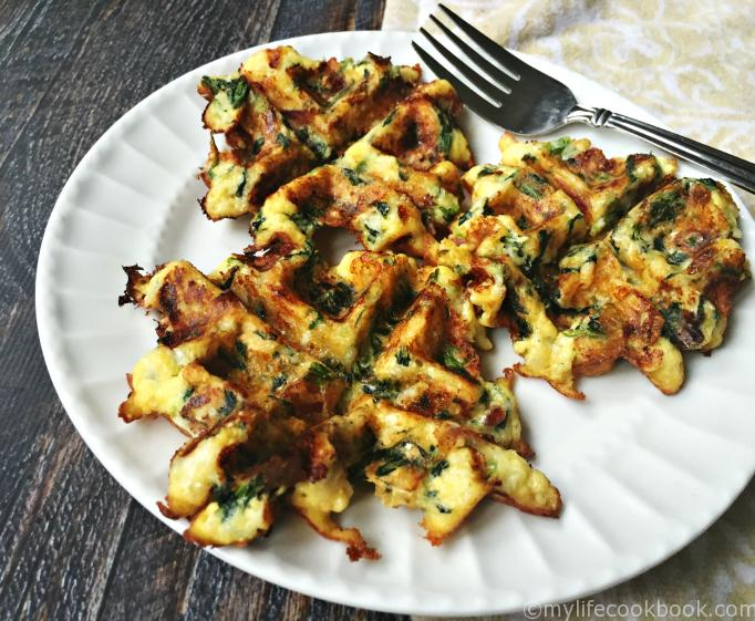 Savory Breakfast Waffles (Paleo & Low Carb) Great for Breakfast on the go.