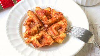 Keto Pizza Waffles