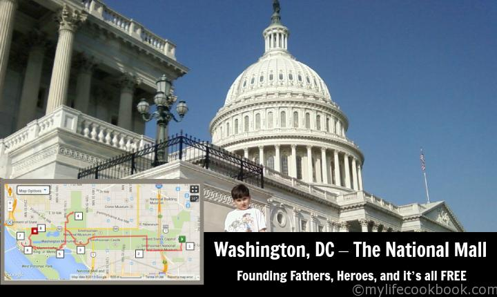 Day Trip Washington DC National Mall