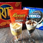 Parfaits Reeses Ritz Oreos Bananas #EasyBracketParty #CollectiveBias