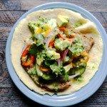 pork tacos coconut tortillas cilantro dressing gluten free