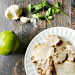 Try these delicious citrus pork tacos with coconut tortillas and cilantro dressing. Gluten free, Paleo and low carb as well. Perfect weeknight dinner.