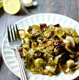 These lemon and garlic brussel sprout chips are not only healthy they are delicious and easy to make.