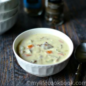 Paleo Clam Chowder Soup