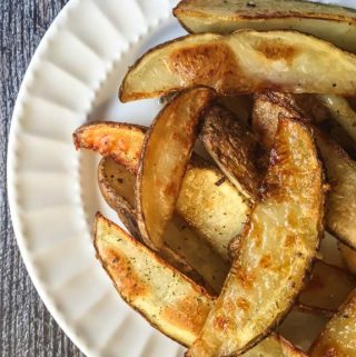 If you want to know how to make perfect steak fries that are crispy on the outside and soft and creamy in the middle this homemade steak fries recipe is for you.