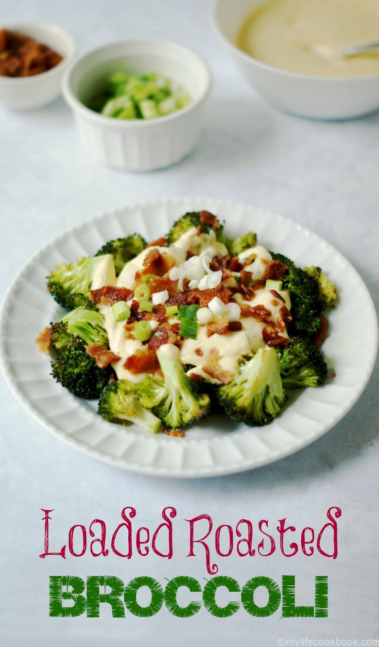 Loaded Broccoli & Cauliflower Cheese Sauce (Paleo, Low Carb) - My Life ...