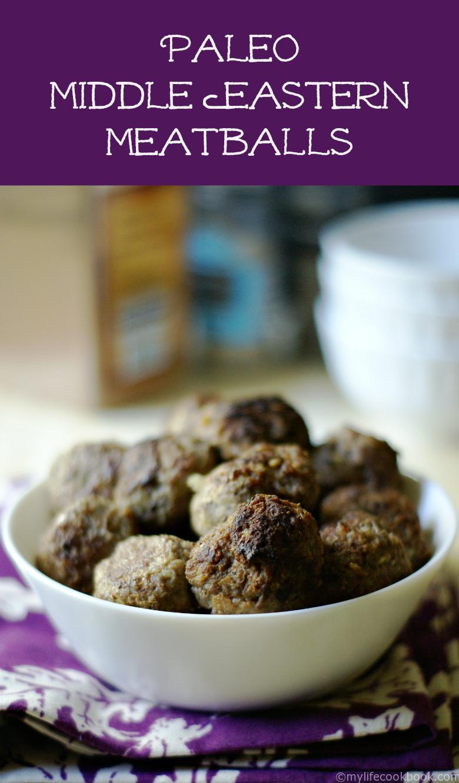 Paleo Middle Eastern Meatballs