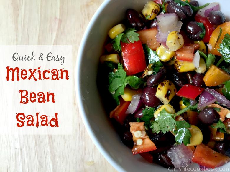 Quick Amp Easy Mexican Bean Salad My Life Cookbook Low Carb Healthy Everyday Recipes