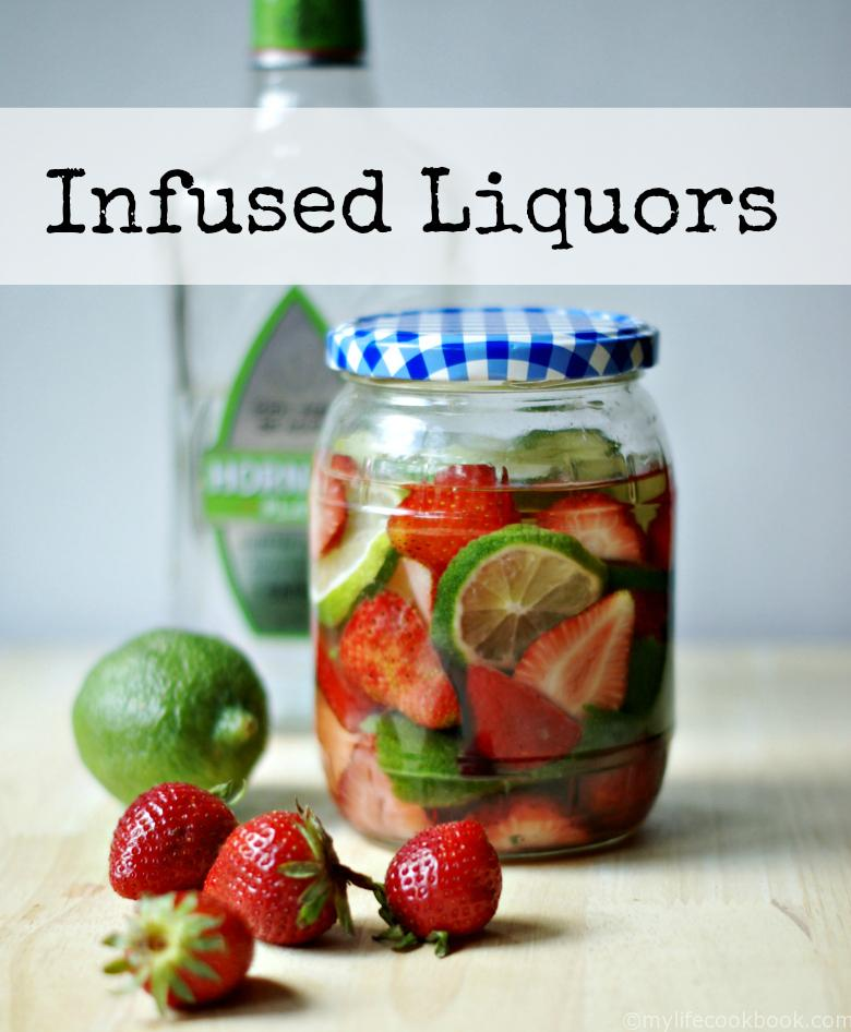 Make some interesting fruit infused liquors for your next party. Recipes include Strawberry Basil Gin, Strawberry Lime Tequila, Apricot Ginger Vodka. Delicious drinks!