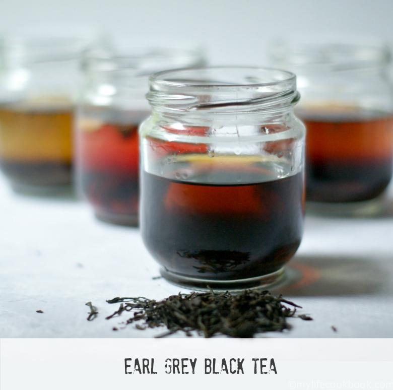 These tea infused alcohols are a tasty and unique way to serve your summer drinks.