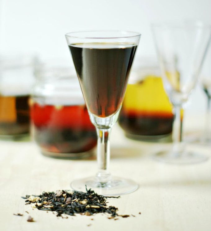 Low Carb Tea Infused Alcohol - a fun drink for summer!