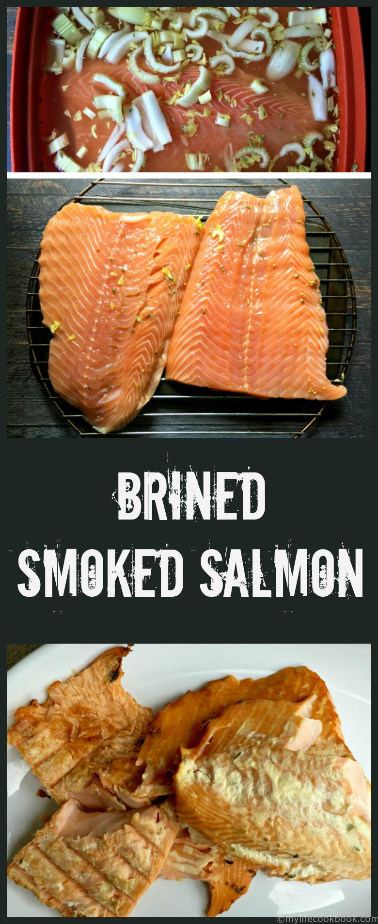 Once you have a taste of this smoked salmon you'll never want to eat it any other way.