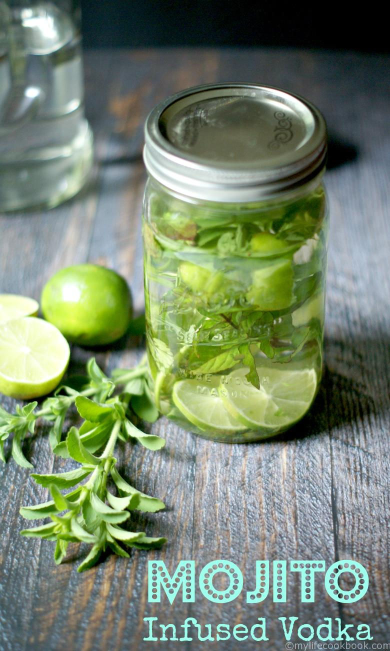 Mojito infused vodka low carb paleo for Delicious drink recipes with vodka