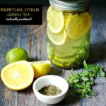 Enjoy this naturally sweetened citrus green tea over and over again. Make it once and reuse the ingredients up to 4 times with great taste.