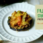 These fajita stuffed portobellos make few a delicious and easy dinner that is both low carb and Paleo.