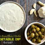 This tangy and garlicky dip is a welcome change from your everyday ranch vegetable dip.
