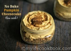 Enjoy all the deliciousness of a pumpkin cheesecake without the guilt. Low carb and no bake. It doesn't get better than that!