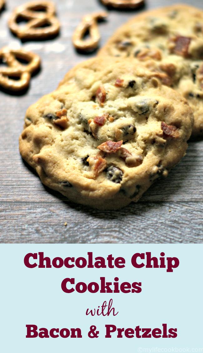 only are these the best chocolate chip cookies, but they have bacon ...