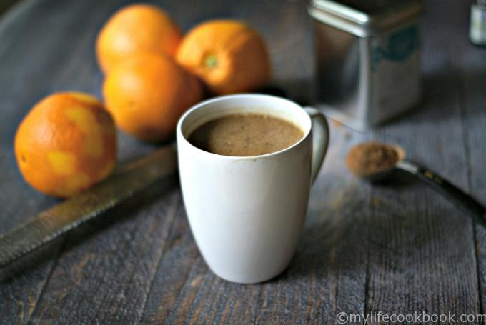 Chocolate Orange Protein Matcha Low Carb