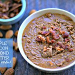 Delicious combination of flavors with maple, bacon and sweet almond butter that is both Paleo and low carb. Eat it by the spoonful!