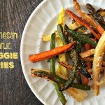These parmesan veggie fries are a tasty side dish or snack. A healthy change from potatoes.
