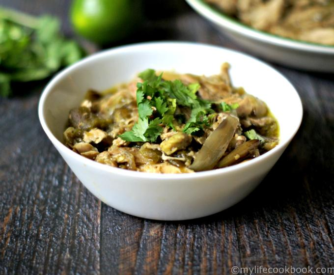 Such an easy and tasty meal made in your slow cooker. Use this shredded chicken over rice, in tortillas or as is.