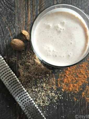 A delicious low carb drink similar to Rum Chata only using vodka and low carb ingredients.