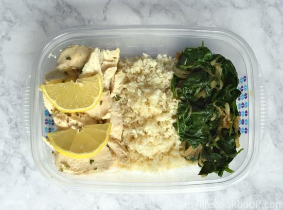 Freezable Healthy Lunches