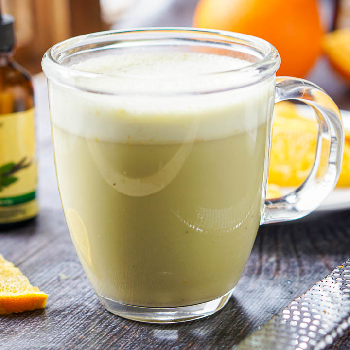 Orange Creamsicle Protein Matcha