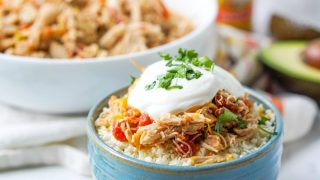 Low Carb Slow Cooker Salsa Chicken - 5 ways to eat it!