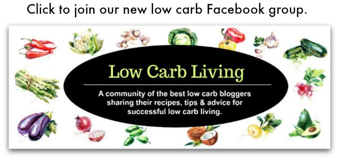 A low carb Facebook Group that offers the best recipes, tips and advice from the best low carb bloggers!